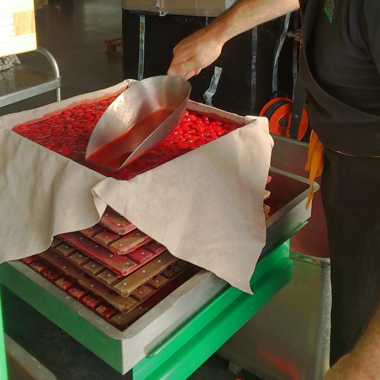 Pressage-fraises